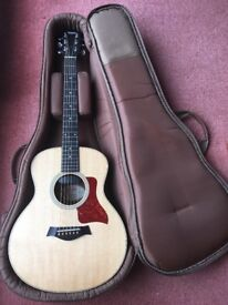Taylor GS Mini guitar fitted with optional Taylor ES-Go pickup