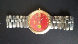 Stainless Steel Swiss Ferrari Watch Available