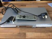 Panasonic DVD/CD player with remote and cables