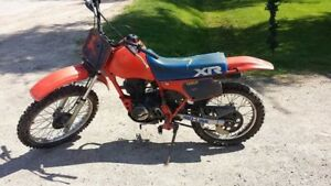 1985 Honda XR100  ($825 Firm)