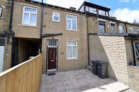 Newly Fully Refurbished 2 Bedroom Rear Mid Terrace House in Bradford ++ FOR SALE BY OWNER ++