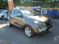 2012 12 KIA SPORTAGE 1.7 CRDI ISG 2 ECO IN MET BROWN # FULL KIA HISTORY #