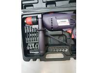 Sparky mains 230v drill and accessories