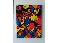 Acrylic Painting Abstract Art Original