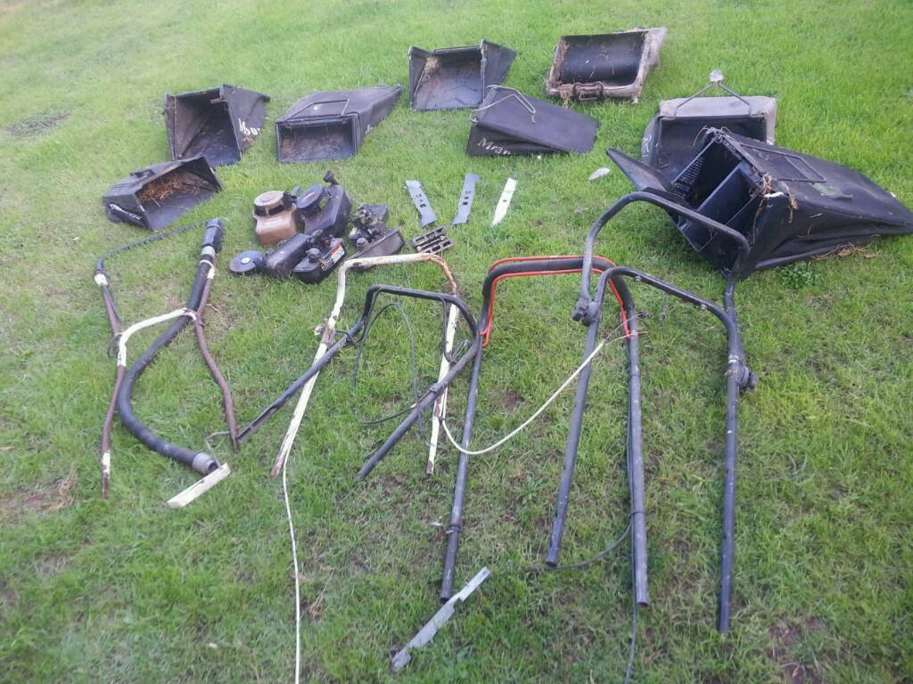 Job lot of lawnmower mower spares
