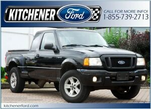 2004 Ford Ranger Edge 4.0L V6/4x4/TONNEAU/BED LINER/ONLY 163K...