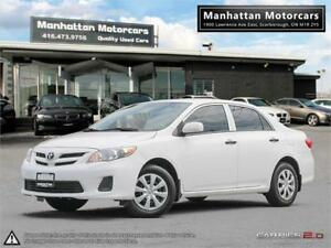 2011 TOYOTA COROLLA CE AUTOMATIC |FUEL EFFICIENT|ONLY 114,000KM