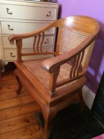 Reduced! - Beautiful Carved Arm Chair