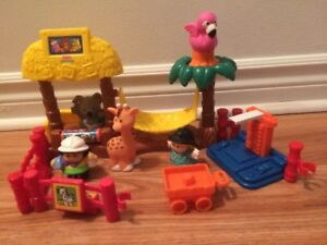 Little People Fisher Price Nurserie Zoo en excellent état