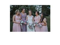 amanda wyatt bridesmaid dresses x 4 / can be sold seperate. Pink & Lavendar.