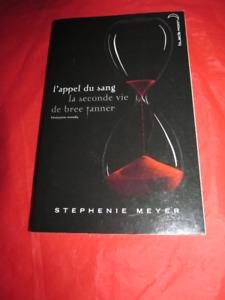 """Livre """"L'appel du sang"""" de Stephenie Meyer"""