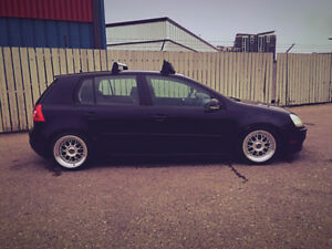 Volkswagen Rabbit MK5 LOWERED OBO
