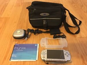 Silver PSP and Games