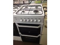 WHITE INDESIT 50CM GAS COOKER BIRMINGHAM