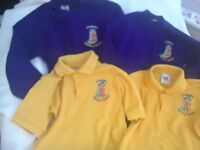 Crossens Uniform Jumper and Polo shirt