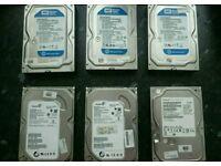 250GB Hard Drives