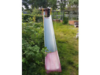 large long outdoor slide for kids 3 - 12 years big 7ft high