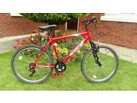 Apollo Slant Mountain Bike..Good Condition..Great Red Colour..In full Working Order..Ideal Commuter