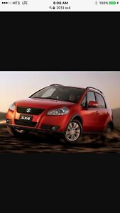 2013 SUZUKI SX4 ALL WHEEL DRIVE