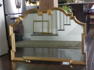 Decorative Gold-Framed Mirror