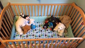 Baby crib with 3 settings - $70 (Richmond)
