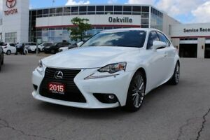 2015 Lexus IS 250 AWD Premium w/Backup Camera, Power Moonroonf &