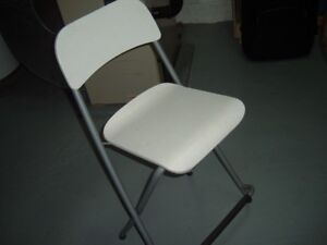 pair of ikea folding chairs