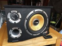 Vibe Black Air V12 Vented Active Subwoofer with built in amp - 1600 watts