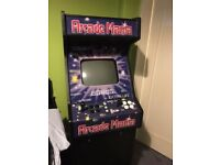 Arcade Mania full size arcade machine - 156 games in 1