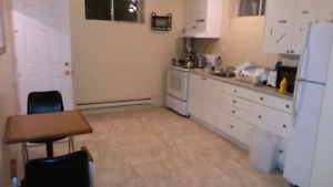 BasementTwo bedroom apartment for rent Gatineau