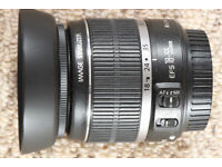 Canon EF-S 18-55mm f3.5-5.6 IS Kit Lens+accessories -Used