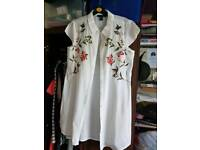 F&F Embroidered Shirt (Size 14)