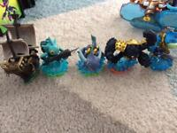 Skylander figures (water types)