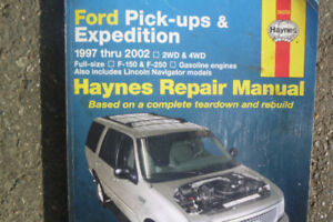 Hayes Repair manuals (Ford F150, F250 and Chevy S10, S15
