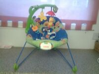 Fisher price bouncer chair
