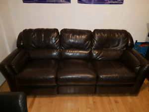 Sofa 3 places / lazyboy couch 3 seats