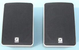 1 Pair of Q Acoustics 1010 Beech Bookshelf Speakers