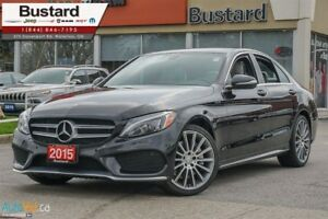 2015 Mercedes-Benz C-Class C400 | AMG | PANORAMIC | NEW TIRES |