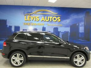 2012 Volkswagen Touareg HIGHLINE 4MOTION GPS TOIT PANORAMIQUE A