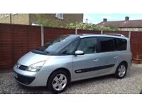 SUPERB DIESEL 7 SEATER 2004 RENAULT GRAND ESPACE 2.2,NEW CAMBELT, MOT, S/HISTORY, ONLY 76000 MILES.