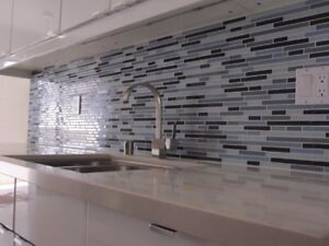 Professional Kitchen +Bathroom Backsplash Wall Tile Install@$198