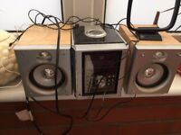 midi system by dual cd and radio for sale in Cardiff.