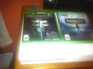 Xbox One S 500GB + Dishonored 2 + Bioshock : The Collection