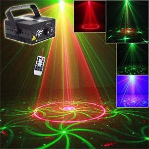 DJ Laser Stage Light Lighting LED Party Club Disco Lumière 1017