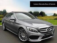 Mercedes-Benz C Class C200 D AMG LINE PREMIUM (grey) 2017-07-11