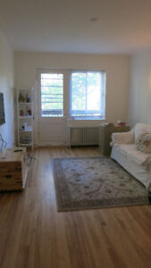 Fully renovated 1 bedroom apartment for rent CDN- Sept. 2017