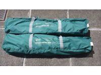 2 Camping Beds, Higear, Quick comfort. (£20 each)