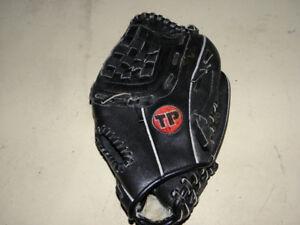 TP left hand baseball glove lightly used