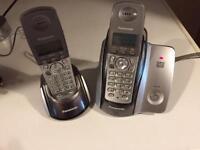 Panasonic phones x 2 ( answer machine )