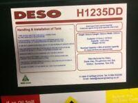 Deso h1235 dd diesel tank dispenser